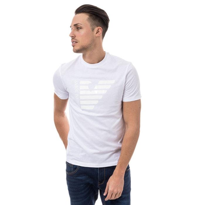 T-shirt armani jeans col rond Armani   La Redoute 5065d07fbb35
