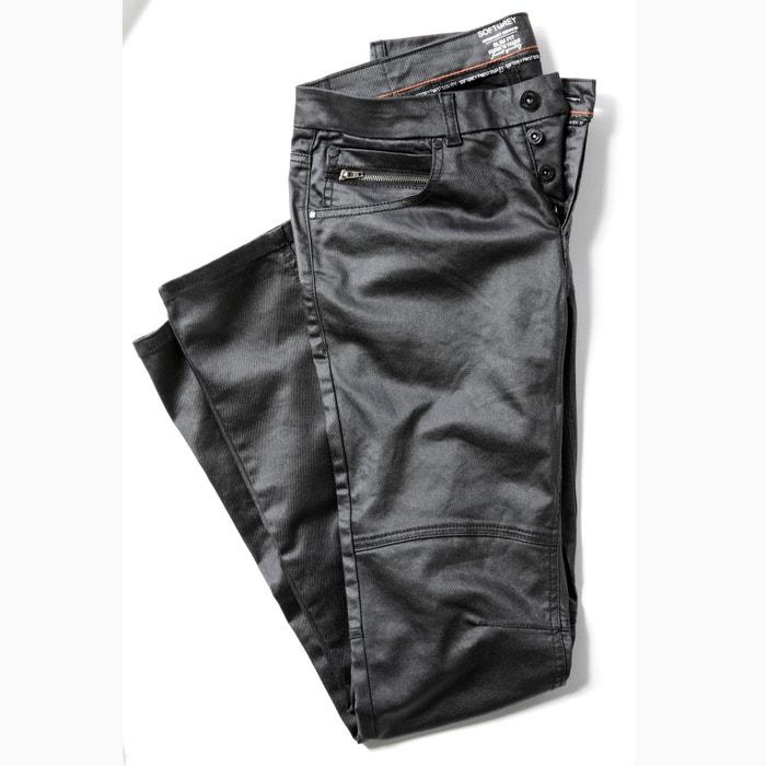 Bild Beschichtete Slim-Fit-Jeans SOFT GREY