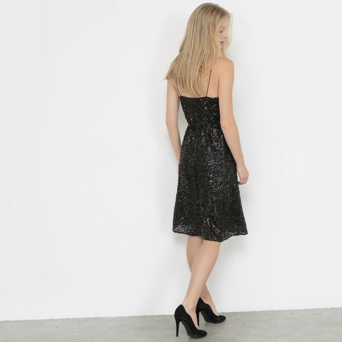 Redoute Collections con lentejuelas Vestido La 0qd5x10