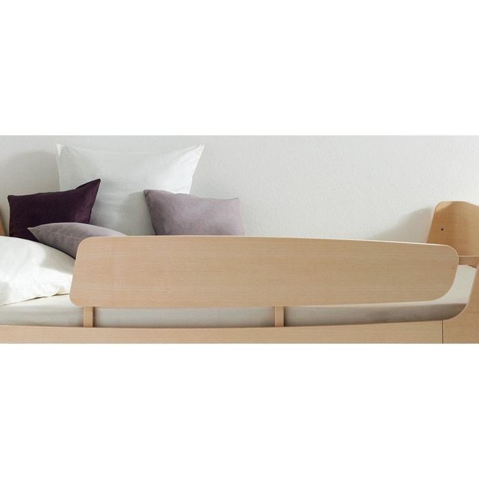 barri re de lit droite pour lit jannis fr ne blanchi alfred et compagnie la redoute. Black Bedroom Furniture Sets. Home Design Ideas