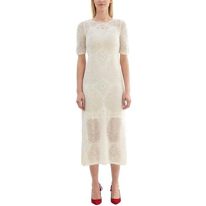 Image Robe longues manches 3/4 en crochet ESPRIT