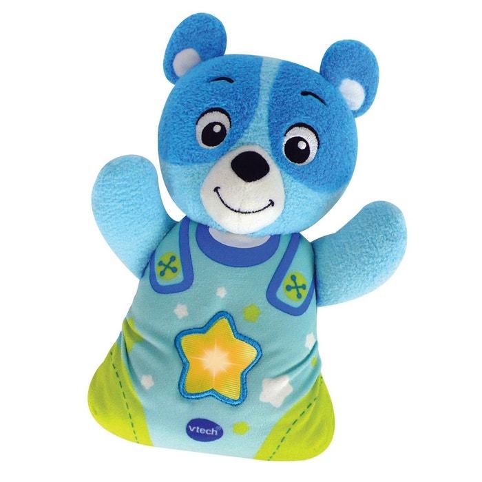 Peluche veilleuse Mon ourson à merveilles : Bleu VTECH