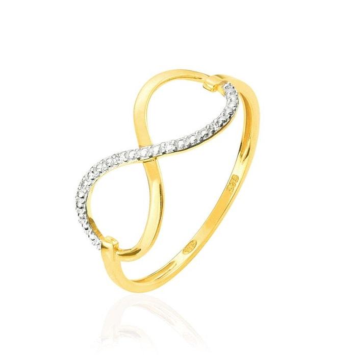 vue Magasin De Jeu De La Vente En Ligne Bague or jaune infini et diamant jaune Histoire D'or | La Redoute Sortie 100% Garanti q0qYzGpOQ1