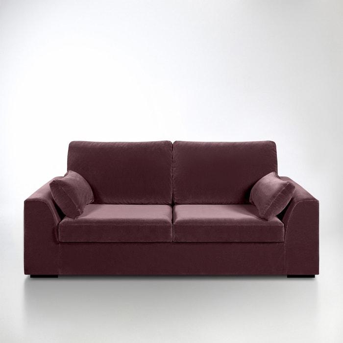 canap madison bultex velours la redoute interieurs la redoute. Black Bedroom Furniture Sets. Home Design Ideas