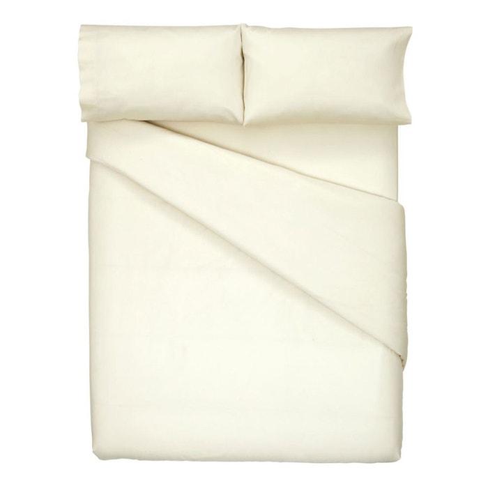 housse de couette 300 fils cotton sateen el corte ingles la redoute. Black Bedroom Furniture Sets. Home Design Ideas