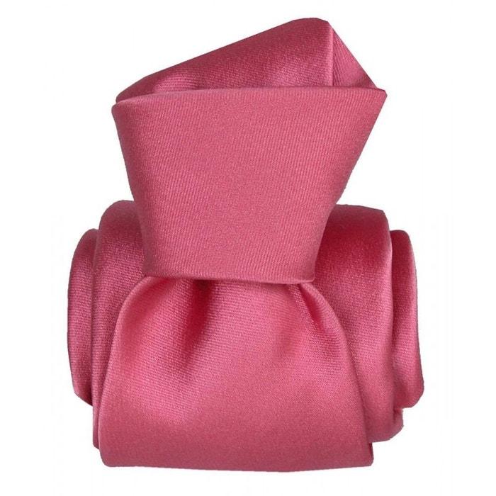 Cravate segni disegni luxe, faite main, satin rose rose Segni Et Disegni | La Redoute