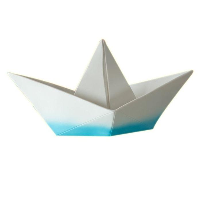 lampe enfant bateau origami bleu blanc goodnight light la redoute. Black Bedroom Furniture Sets. Home Design Ideas