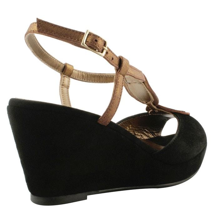 Chaussures compensées cléo Exclusif Paris