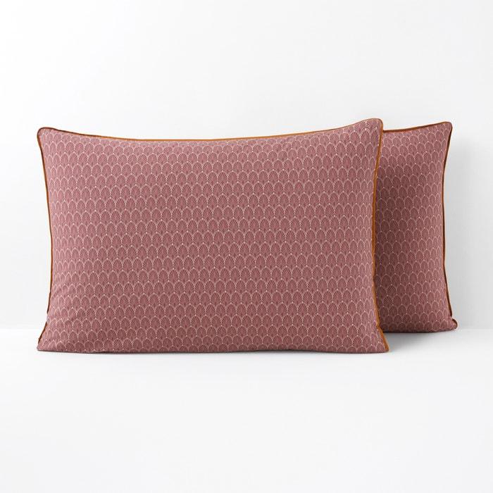 ab10d3069430 Funda de almohada de percal de algodón MINA