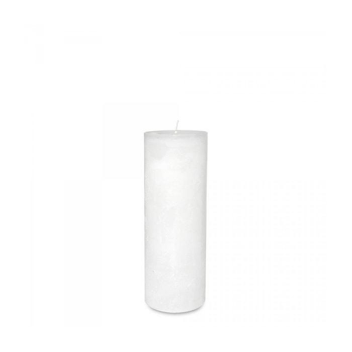 bougie blanche diam 7 x 20 cm blanche dekocandle bougie la redoute. Black Bedroom Furniture Sets. Home Design Ideas