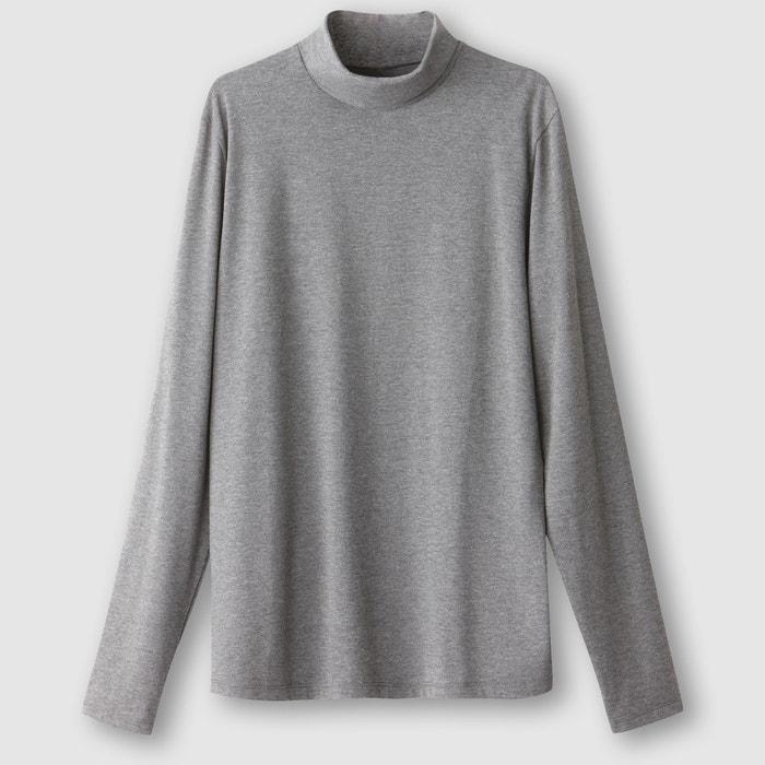 Image T-shirt manches longues et col roulé R essentiel