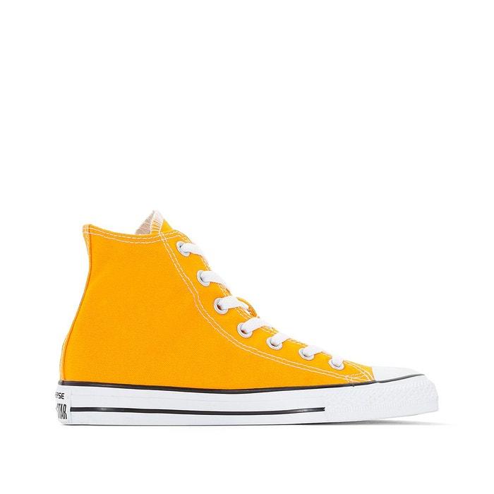 Baskets montantes ctas hi seasonal canvas orange Converse