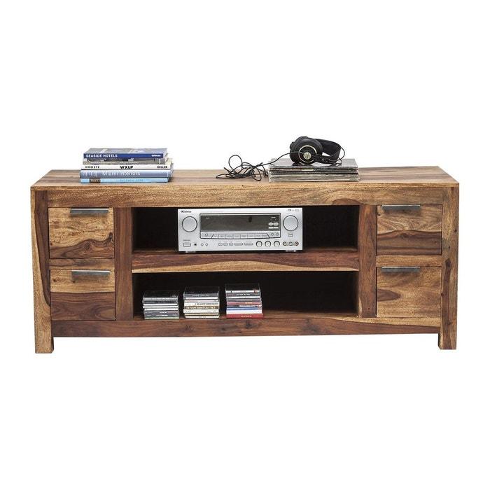Meuble tv en bois authentico kare design couleur unique kare design la redoute - Meuble kare design ...