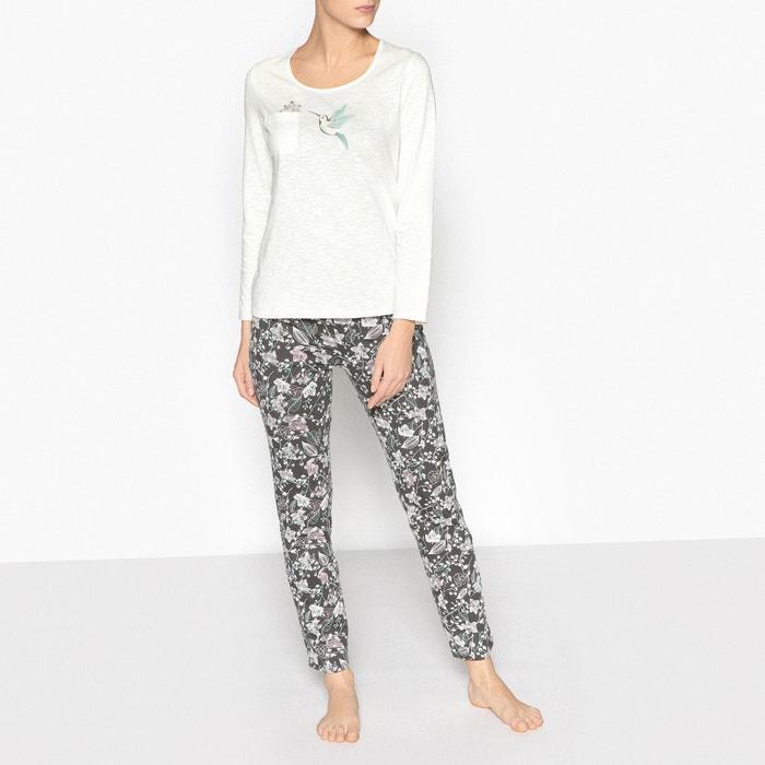 Bedrukte pyjama  La Redoute Collections image 0