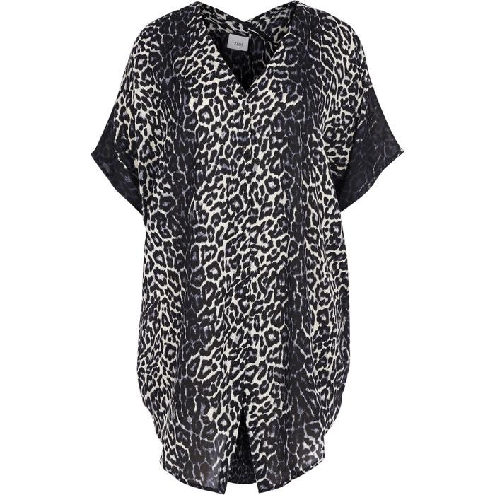 Long Leopard Print Tunic  ZIZZI image 0