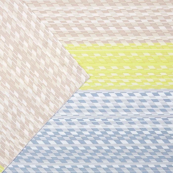 drap plat facet multi couleurs hugo boss home la redoute. Black Bedroom Furniture Sets. Home Design Ideas