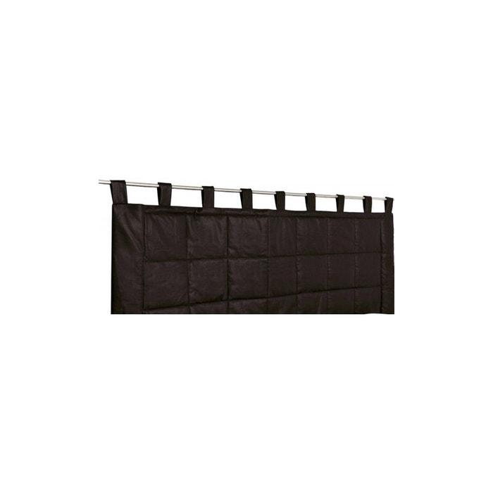 rideau t te de lit imitation cuir home maison la redoute. Black Bedroom Furniture Sets. Home Design Ideas