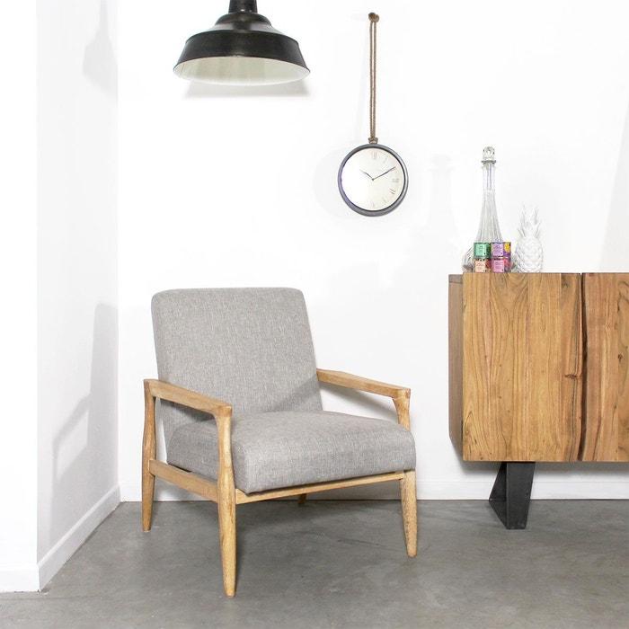fauteuil contemporain tissu hg27 made in meubles la redoute. Black Bedroom Furniture Sets. Home Design Ideas