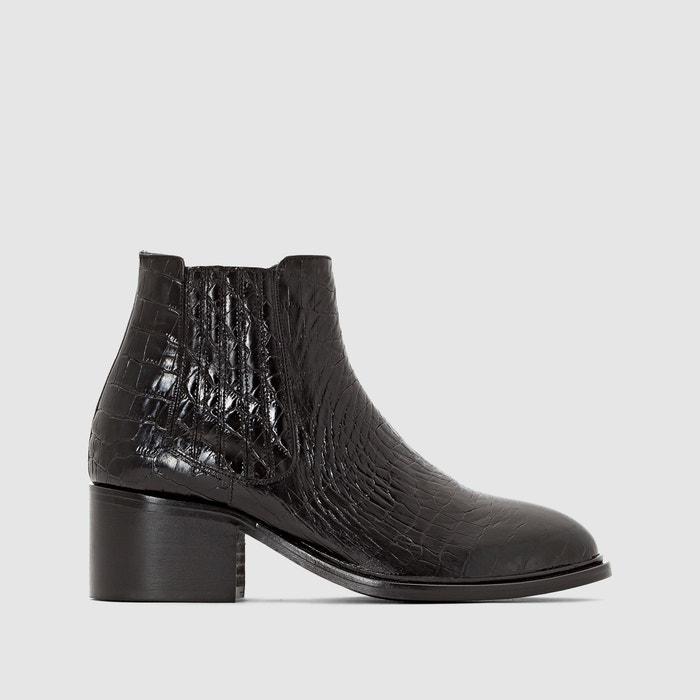 Image Boots cuir Daiana JONAK