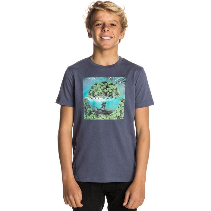 Image T-shirt con scollo rotondo fantasia, maniche corte RIP CURL