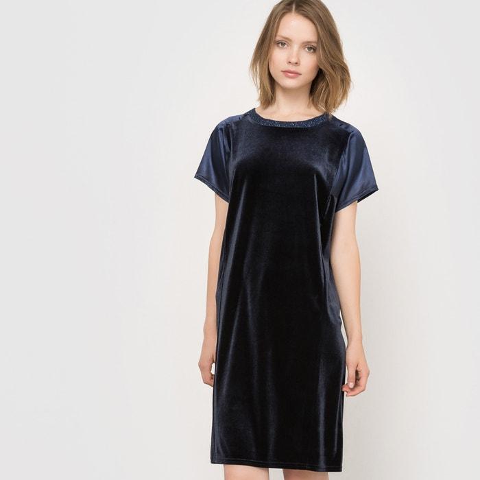 Imagen de Vestido de noche, dos tejidos R essentiel