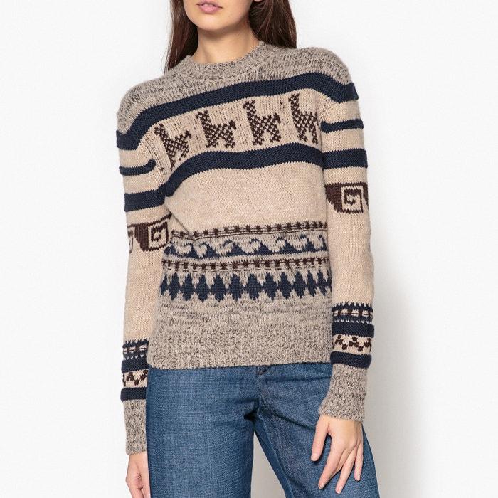 Пуловер с воротником доставка