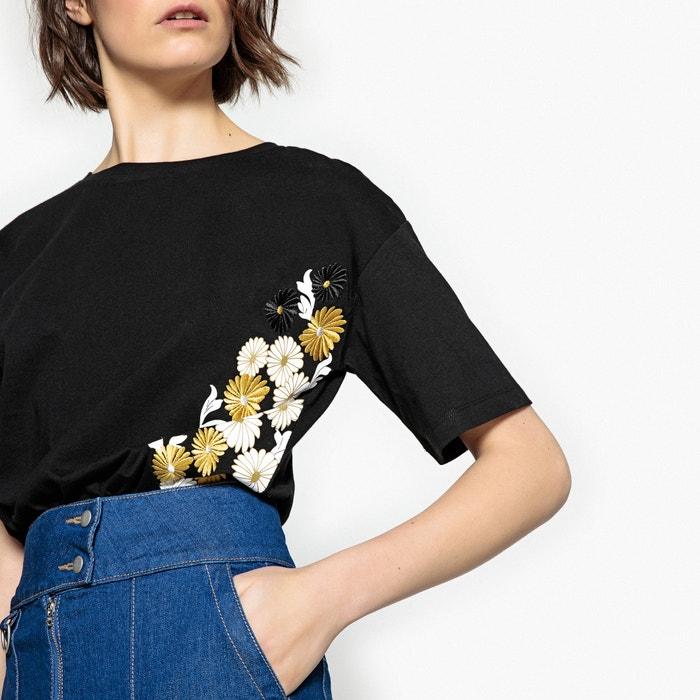 Collections Camiseta y estampada flores La de Redoute bordada AwPqPf