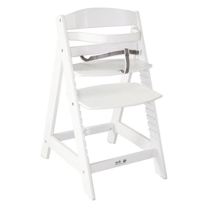 chaise haute volutive collection 39 sit up iii 39 roba laqu e en blanc roba la redoute. Black Bedroom Furniture Sets. Home Design Ideas
