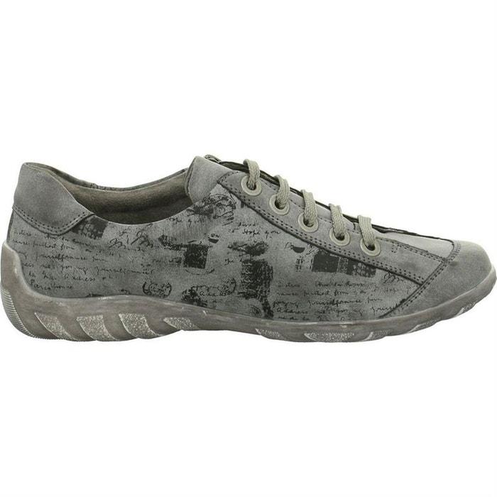 Chaussures à lacets synthetique gris Remonte Choix Rabais P9TjgiJ1