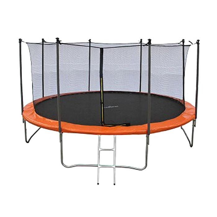 Trampoline JUMP4FUN 13FT - 400cm - Orange