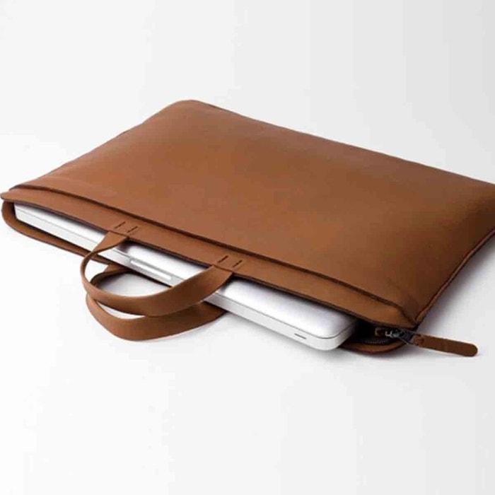 dd1f579db2 Sacoche en cuir pour ordinateur et documents 15 pouces Labrador | La Redoute
