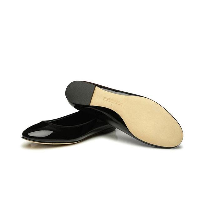 Ballerines en cuir verni noir noir Shoepassion Meilleur Fournisseur YyzMk