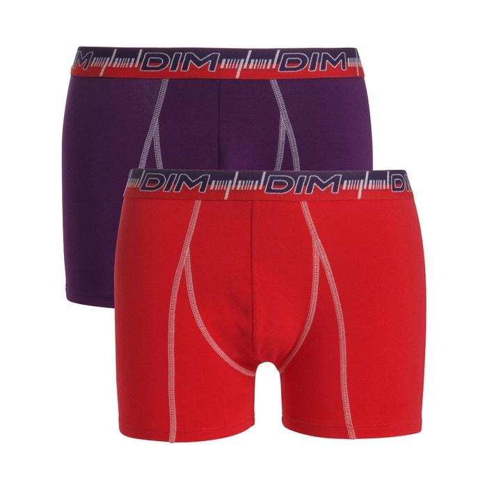Image Boxer 3D FLEX DYNAMIQUE en coton stretch,  lot de 2 DIM