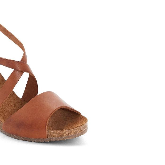 Sandales cuir compensées spagnol Kickers