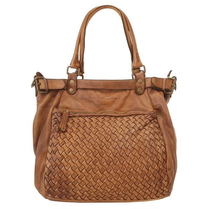 Sac shopping. cognac Samantha Look | La Redoute Choix Pas Cher ZiUA3GW