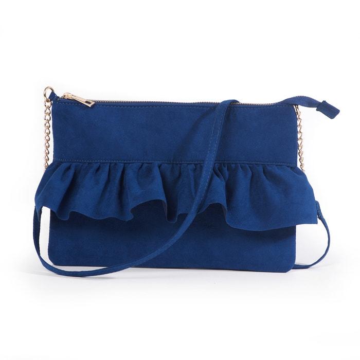 Ruffle Trim Clutch Bag  MADEMOISELLE R image 0