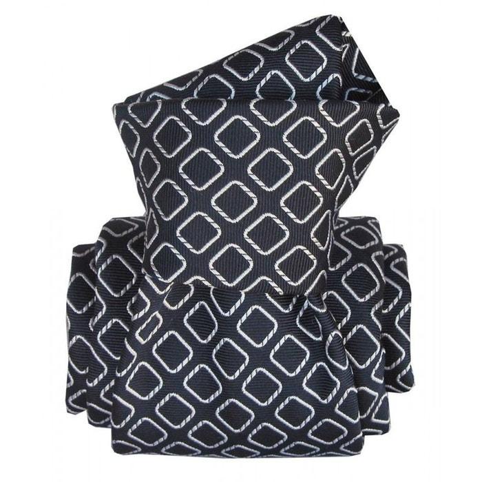 Cravate segni disegni luxe, faite main, aramis marine marine Segni Et Disegni | La Redoute