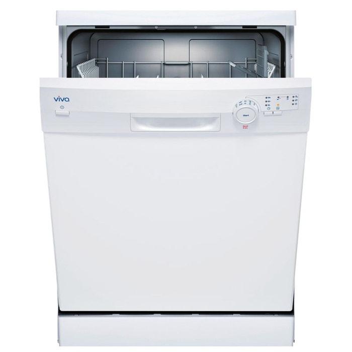 viva lave vaisselle 60cm 12c 48db a pose libre vvd25w10eu blanc viva la redoute. Black Bedroom Furniture Sets. Home Design Ideas