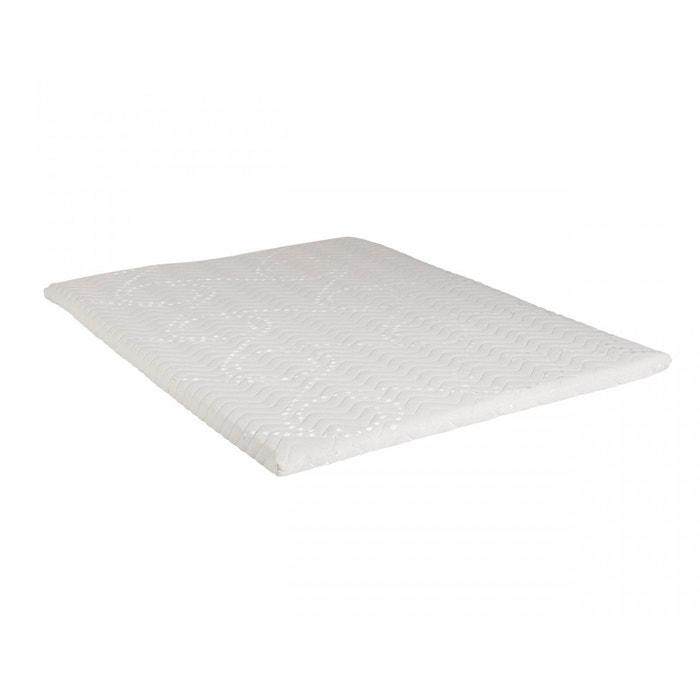 surmatelas mousse fabuleux terre de nuit blanc terre de nuit la redoute. Black Bedroom Furniture Sets. Home Design Ideas