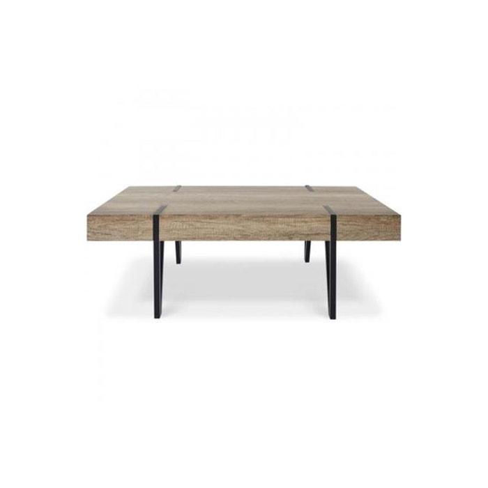 Table Foncé Chêne Basse Bakel CxoBed