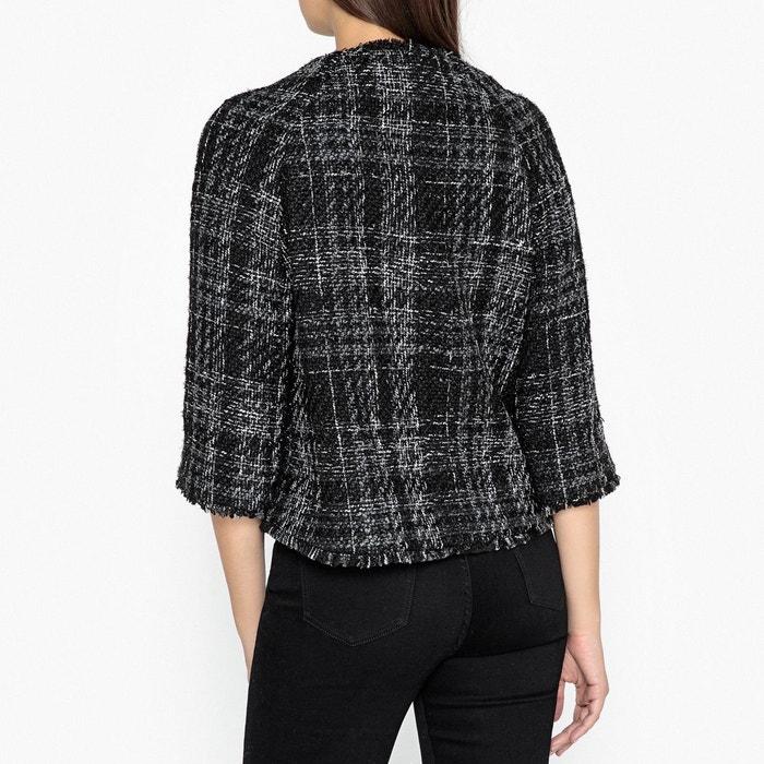 Veste courte, esprit couture, zippée gris Gerard Darel | La