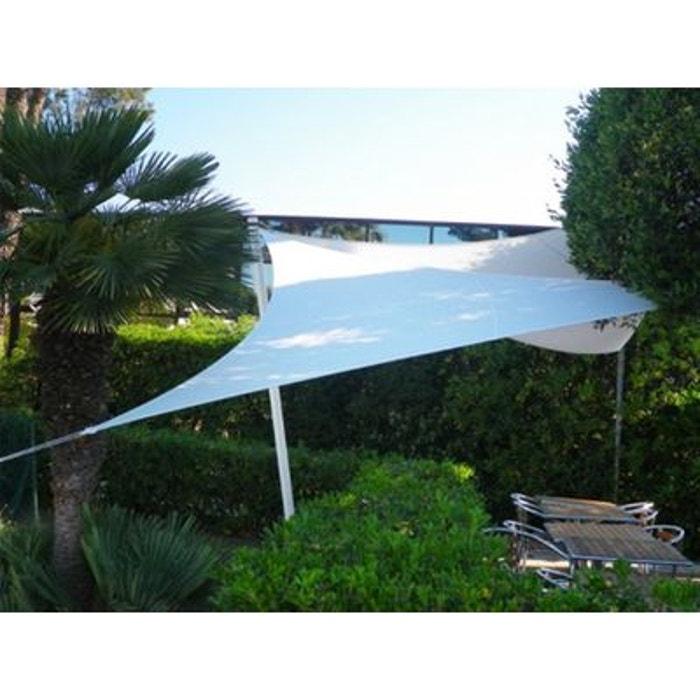 voile d 39 ombrage triangle 5x5x5m jardindeco la redoute. Black Bedroom Furniture Sets. Home Design Ideas