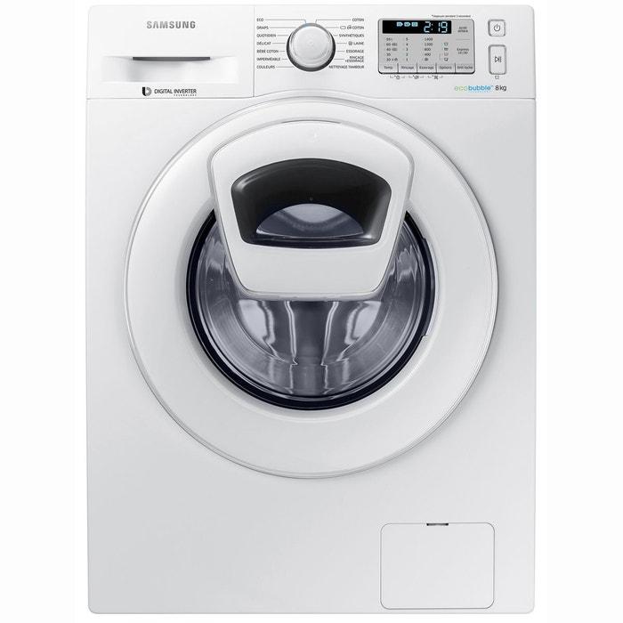 Lave-linge frontal connecté Add Wash WW80K5413WW
