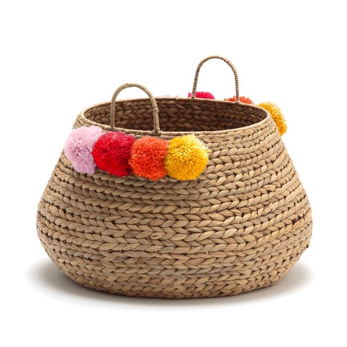 Ikoya Water Hyacinth Basket  La Redoute Interieurs image 0