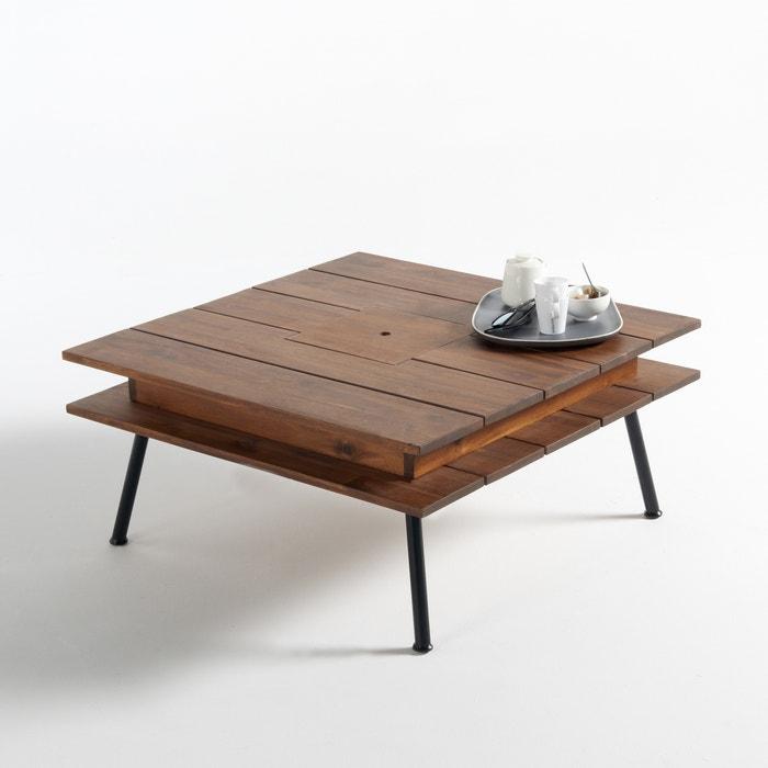 "Flacher Tisch ""Chesnut"", 2 Platten  La Redoute Interieurs image 0"