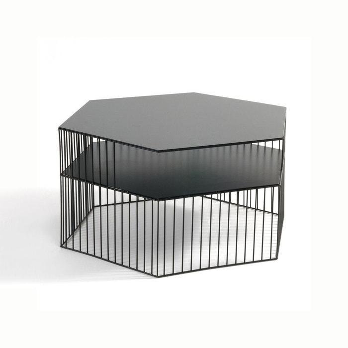 table basse m tal filaire bangor noir la redoute interieurs la redoute. Black Bedroom Furniture Sets. Home Design Ideas