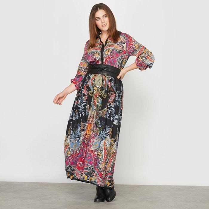 Image Paisley Print Maxi Dress CASTALUNA