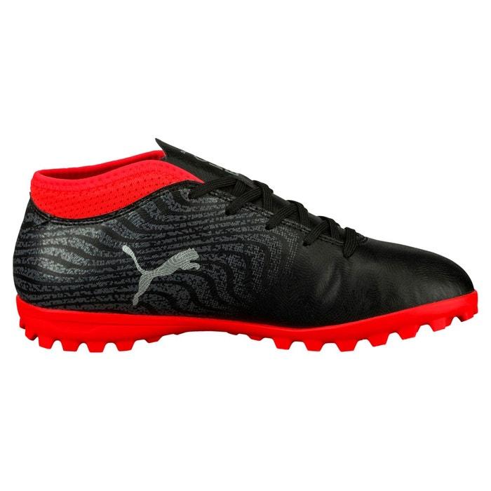 premium selection d16a9 5bd82 Chaussure de football puma one 18.4 tt noir rouge junior noir Puma   La  Redoute