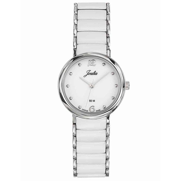 Montre en métal blanc blanc Certus | La Redoute Peu Coûteux classique Visite Pas Cher KCay9n