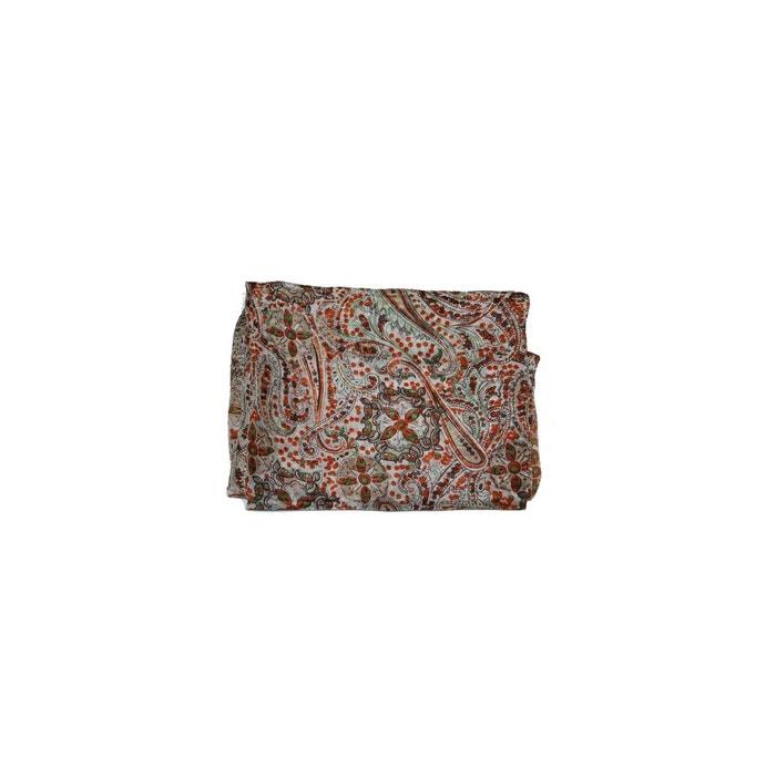 6fdfe18d7c0e Foulard en soie imprimé cachemire - paraphe Derhy